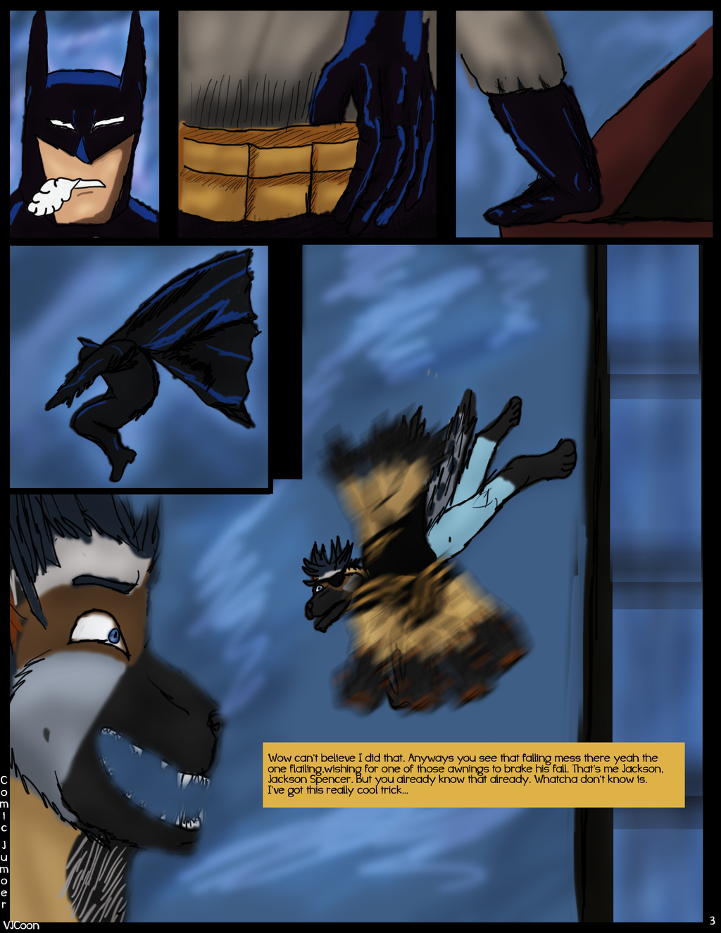 Comic Jumper: the beginning page 3