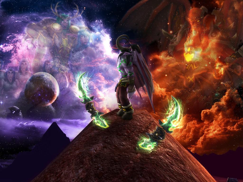 Illidan's choice by Heavenslight180