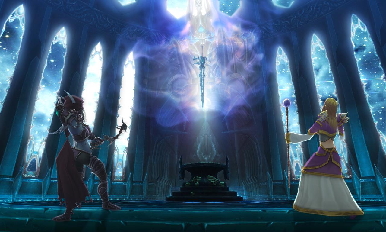 Frostmourne by Heavenslight180
