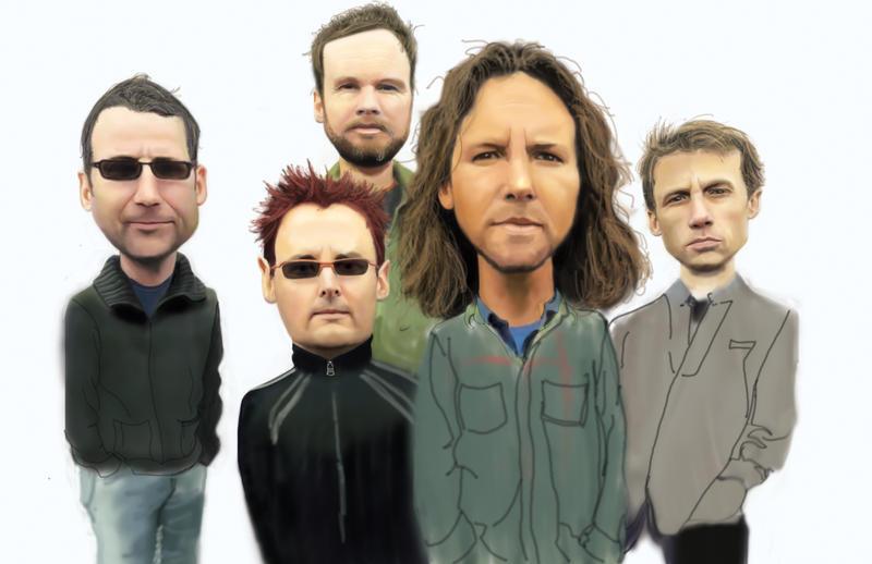 Pearl Jam by ErikFish