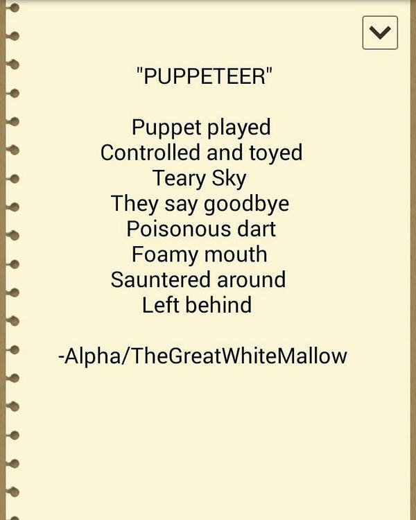 - Puppeteer by TheGreatWhiteMallow