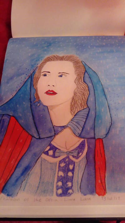 Christine Daae ( Journey to the Cemetery)  by LouiseArt2016