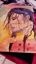 Michael Jackson  by LouiseArt2016