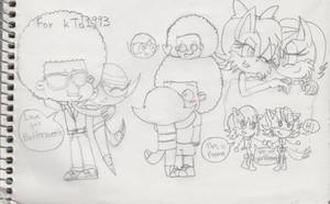 Request exception - Buttercup x Rallo Tubbs by AnimeVideoGamesFan37
