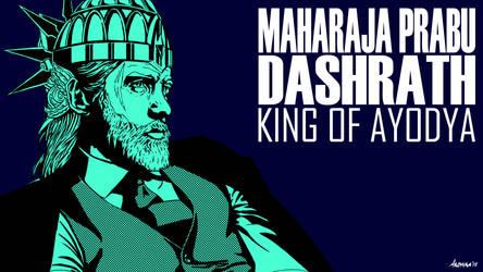 Grand Legend Ramayana - NOIR : Dashrath by Bakabakero
