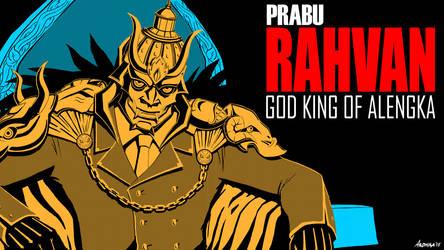 Grand Legend Ramayana NOIR - Rahvan by Bakabakero