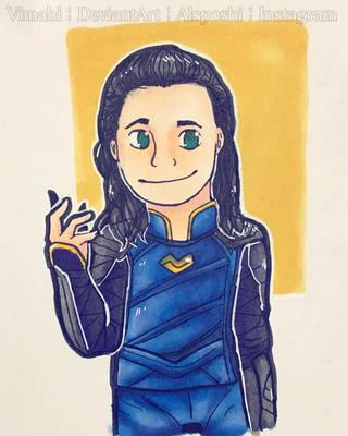 Loki yet agAIN by Vimahi