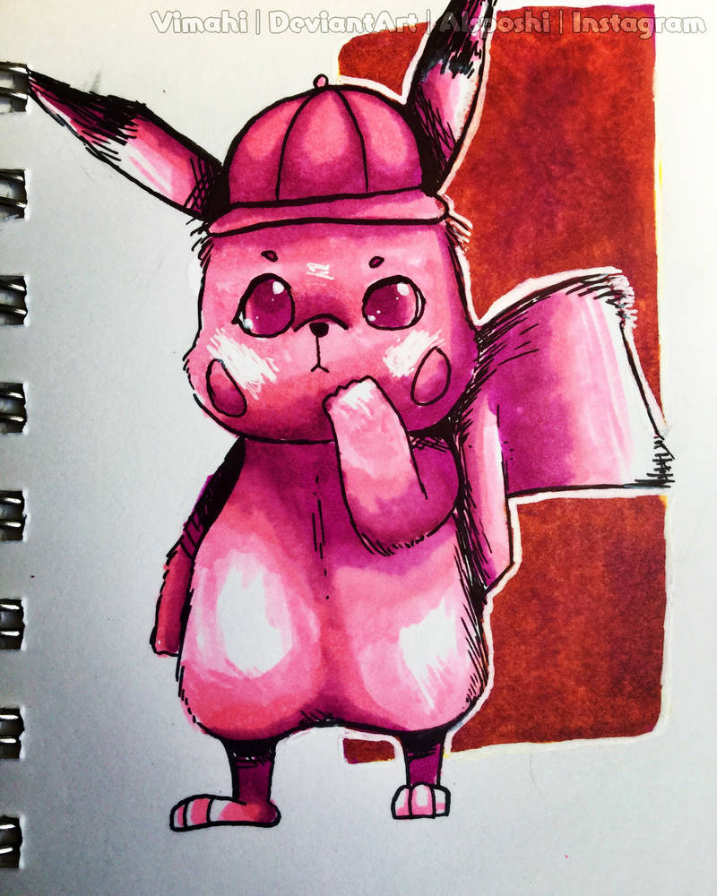 Detective Pikachu by Vimahi