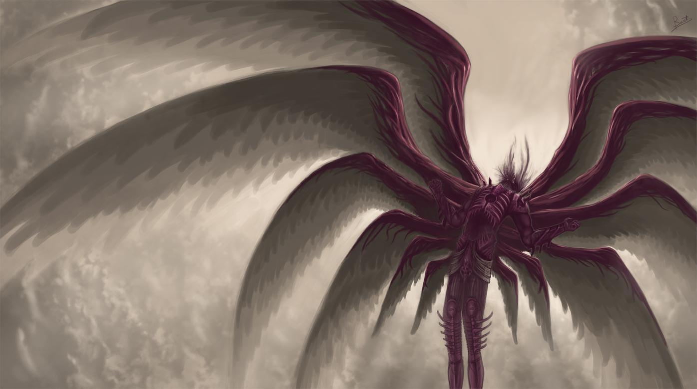 Angel Of Death By Zevenstorms On Deviantart