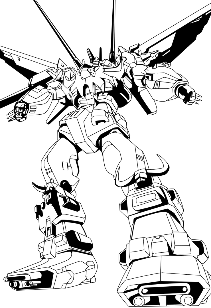 Predaking transformers coloring pages ~ Predaking-Call of the Primitives (ver.C) by VZMk2 on ...