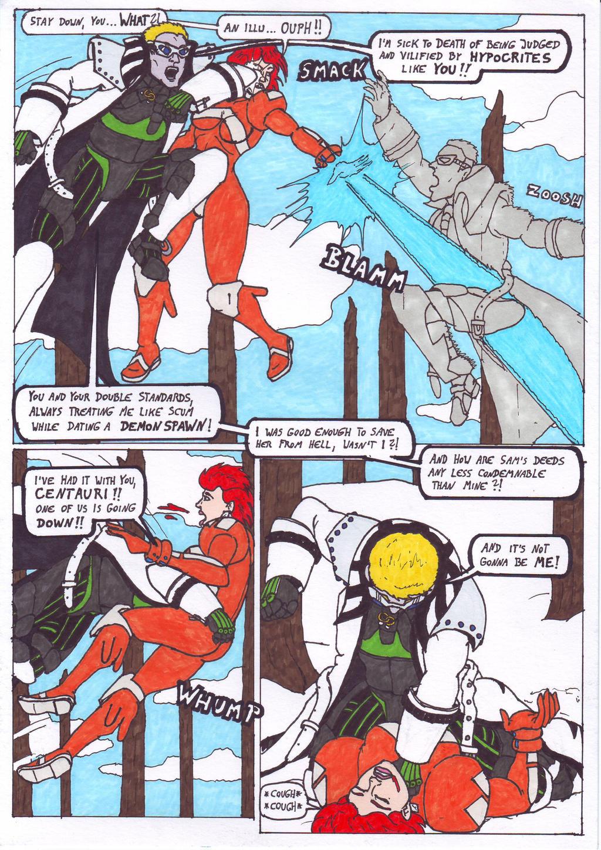 Dark Justice: Page 7 by Branded-Curse
