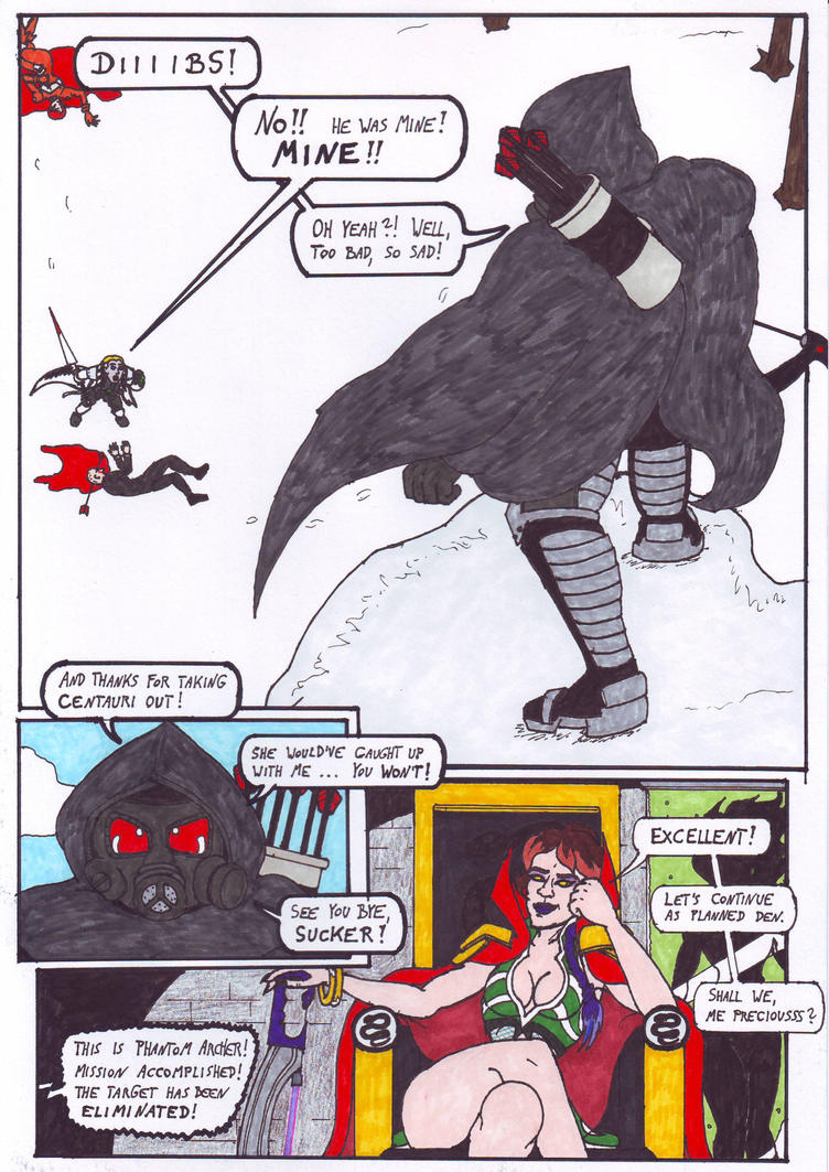 Dark Justice: Page 13 by Branded-Curse