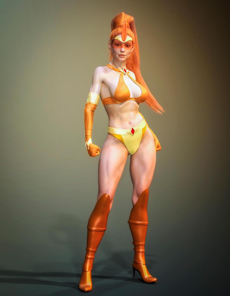 Heroine Overdose 3D: Spark Maiden by Branded-Curse