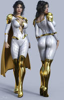 Thunder Woman 3D by Branded-Curse