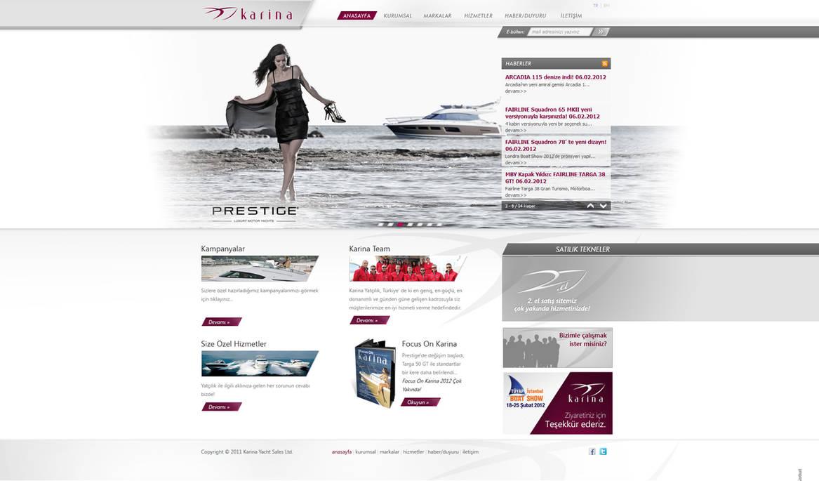 Karina Yacht Sales Ltd. Official Web Site