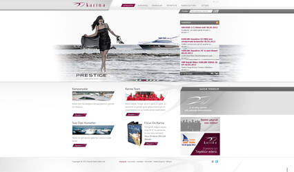 Karina Yacht Sales Ltd. Official Web Site by FerdiCildiz