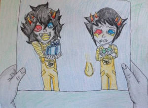 Sollux and Mituna