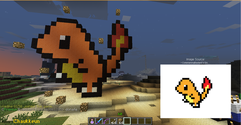 how to make a pokemon on minecraft