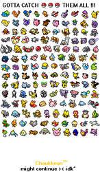 Pokemon: Gotta Catch 'em all by Chaukkeun