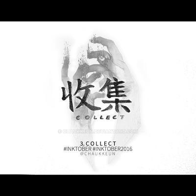 Inktober 2016 | Collect by Chaukkeun