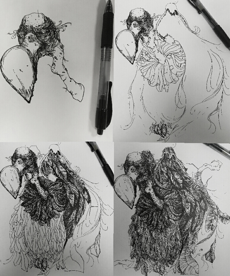 .vulture. by elementalunacy