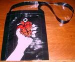 Green Day Duct Tape Purse