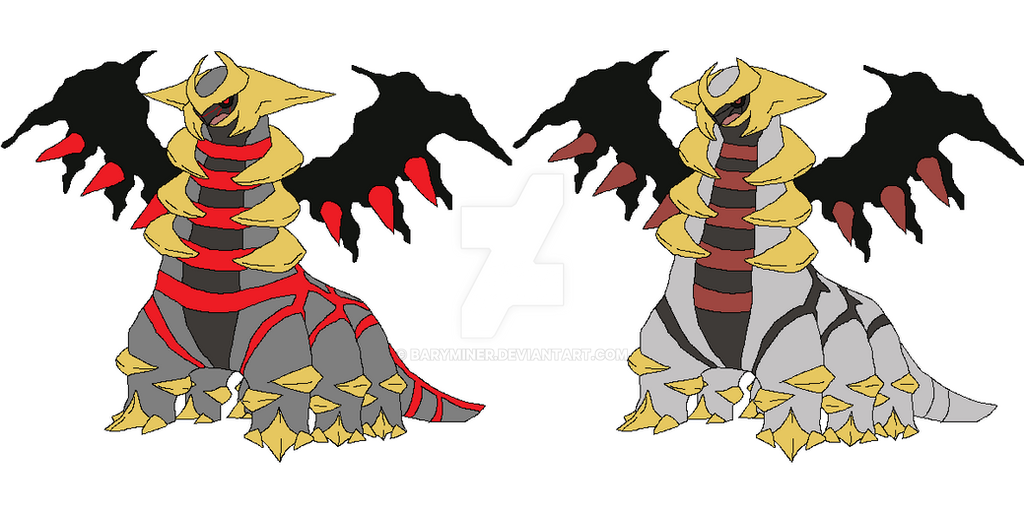 Primal Giratina Artwork Rant - Other Fandoms Forum