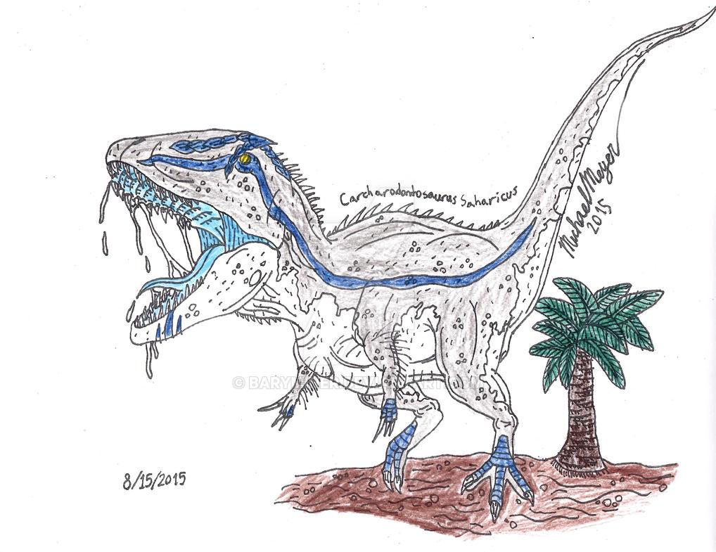 Carcharodontosaurus Saharicus by BaryMiner