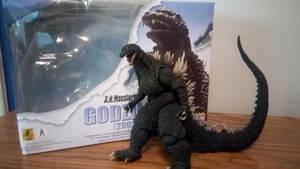 Godzilla 2002 SH Monsterarts by BaryMiner