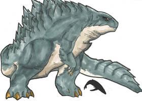 Big Boi Godzilla by BaryMiner