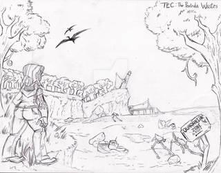 TEC Concept Art #2: The Perinda Wastes