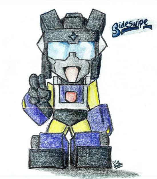 Chibi Sideswipe, Colored By Autobot-Windracer On DeviantArt