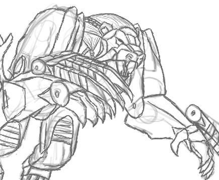 Leobreaker Sketch by Autobot-Windracer