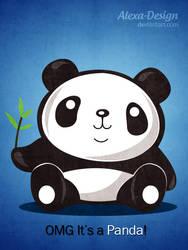 OMG, it's a Panda by Alexa-Design