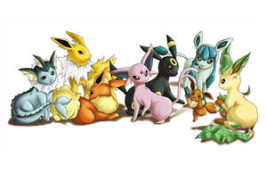Eeveelutions 2009 by ttururu