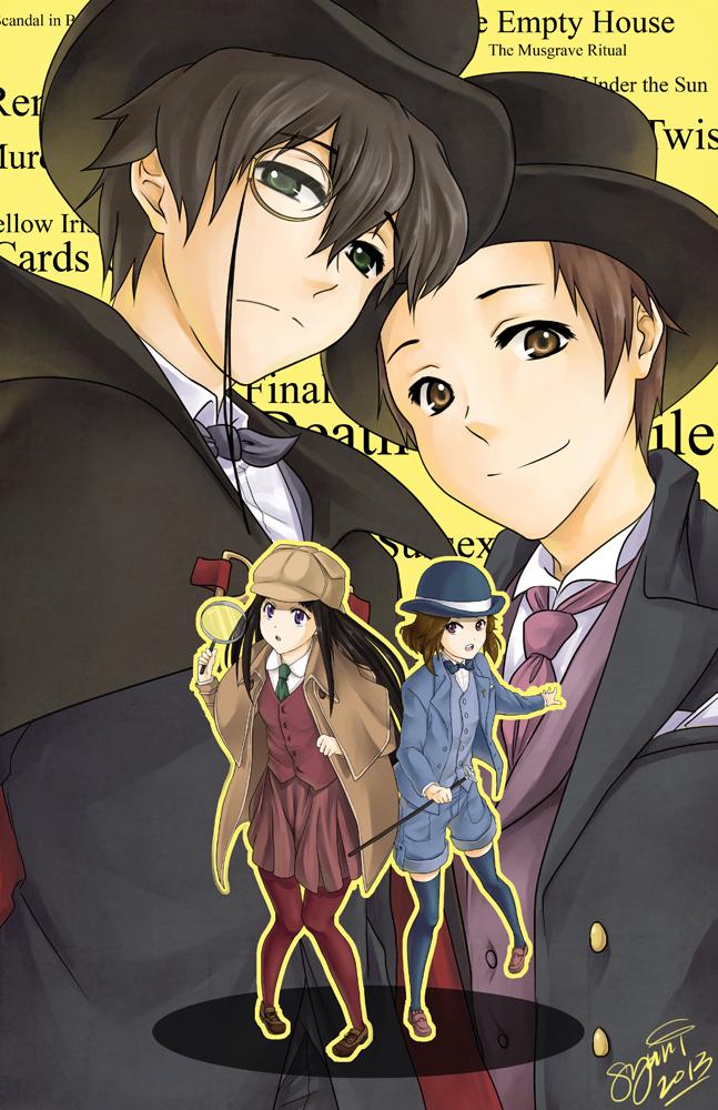 Hyouka :: Kimi wa Mystery by ttururu