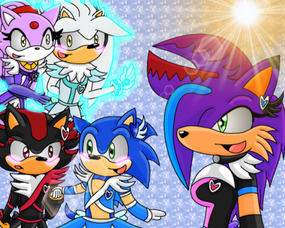 Ask Sonic, Shadow and Silver Extra 4 by Charlotterulesofteam