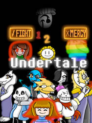 Undertale 1-2 Year Happy Anniversary by Charlotterulesofteam