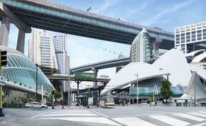 The Future City by zbush