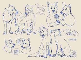 [$] Chaos - Couple Sketchpage