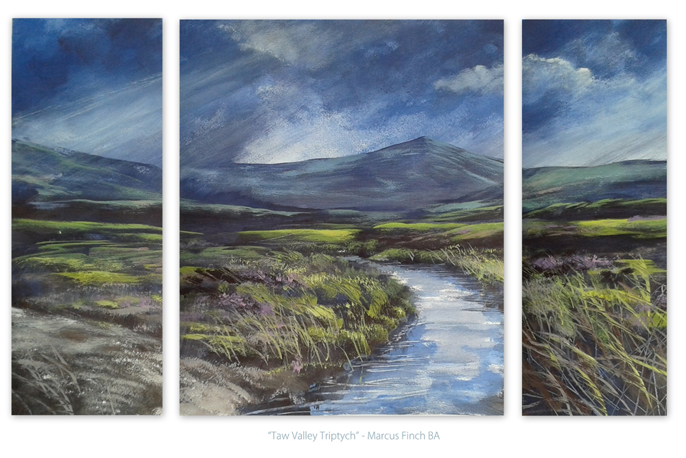 Taw Valley Triptych dev by Krystalvoyager