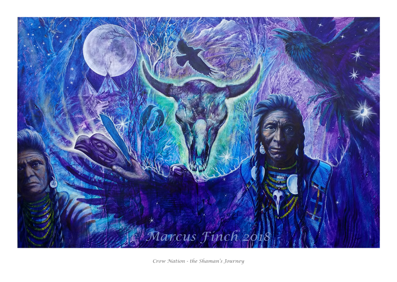 Crow Nation by Krystalvoyager