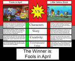 Fools in April Vs. Little Yellow Book