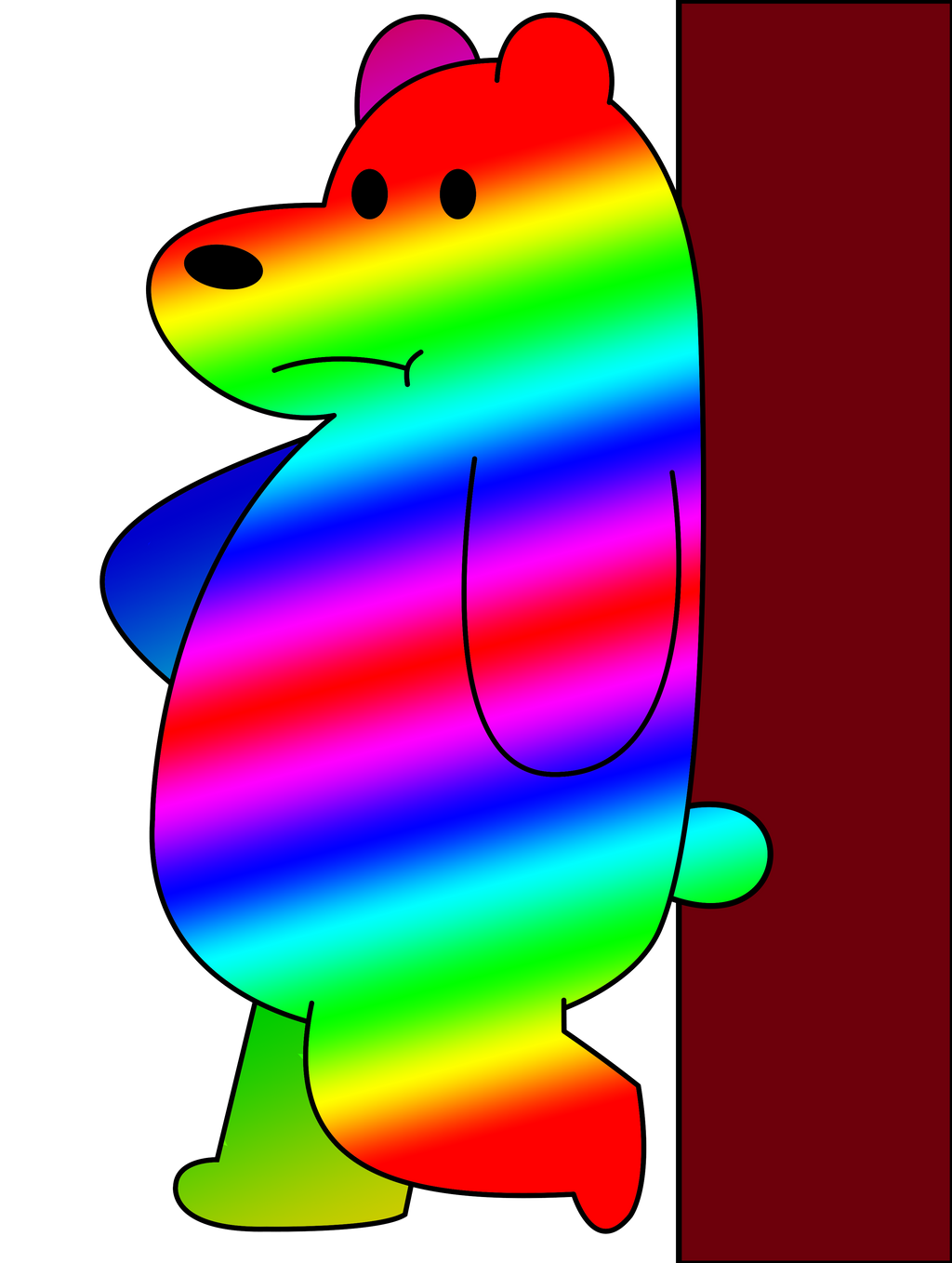 Rainbow bear by wildstar27 on DeviantArt
