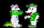 Craig and Gator