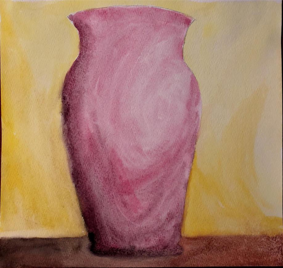 Red Vase by wildstar27