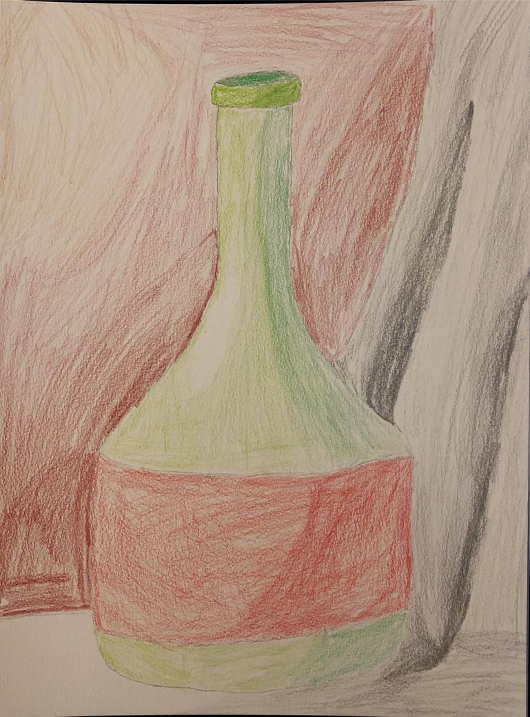 Wine bottle by wildstar27