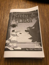 Kitty and Luka comic collection dummy book