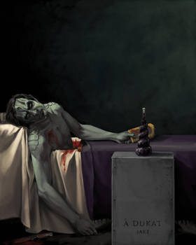 the death of dukat