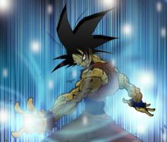 Goku by Solitarius-Advena